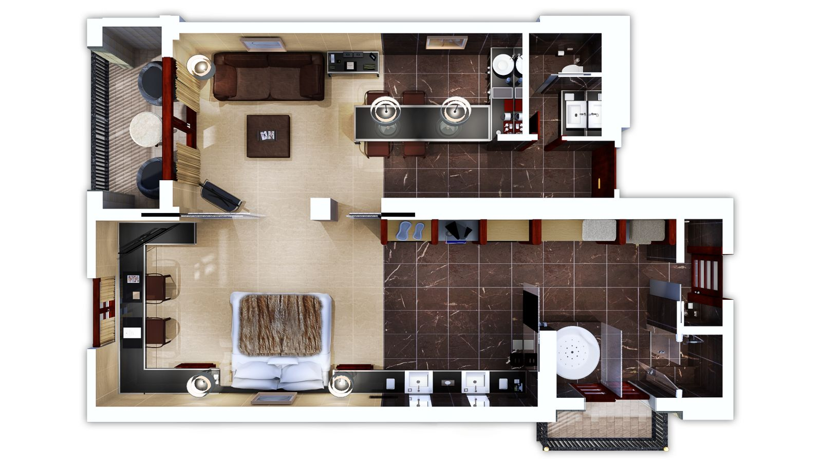 Loewe suite castillo hotel son vida mallorca for Floor plan virtual tour
