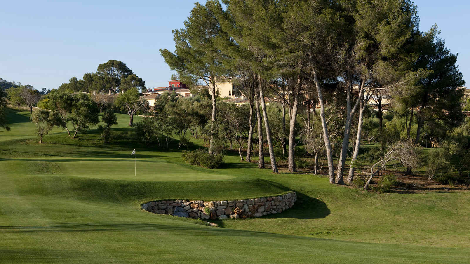 Son Quint Pitch + Putt golfplatz im at Castillo Hotel Son Vida