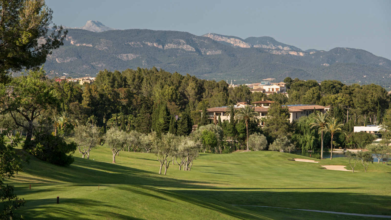 Son Vida golf course hosted two european tours at Castillo Hotel Mallorca